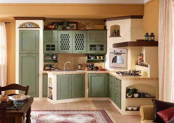 Disegni cucine progetti cucine in muratura lineare cucina for Catalogo cucine componibili