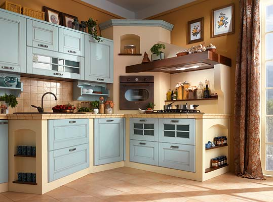 Azzurro cucine poco dopo le unauto una smart di colore nero guidata da un settantenne ha - Mondo convenienza perugia cucine ...