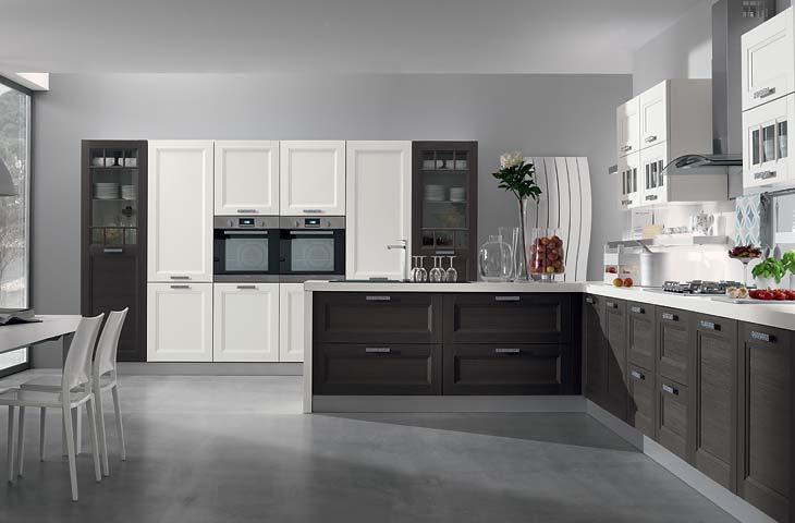 cucine moderne grigie  triseb, Disegni interni