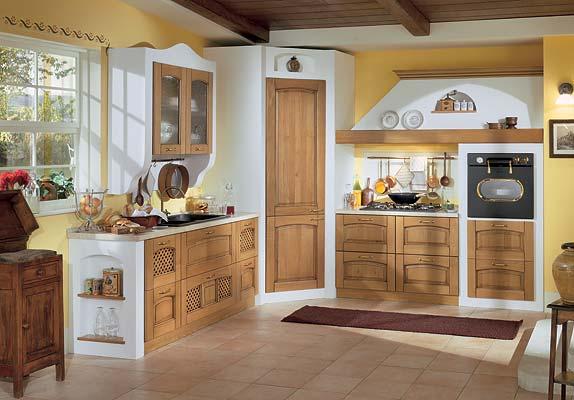 Iezzi catalogo cucine classico marta rovere - Cucine in legno chiaro ...
