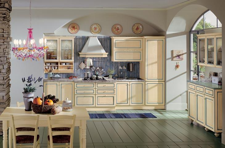 IEZZI - Catalogo, cucine classico - Letizia color Modello unico