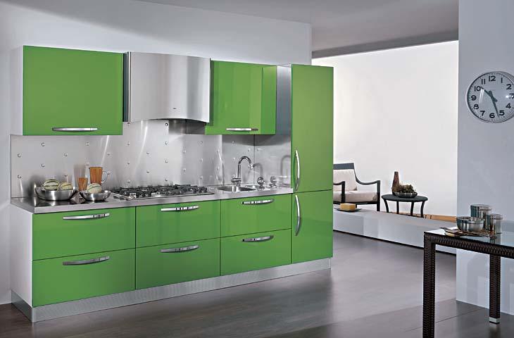 Piastrelle per pareti soggiorno soggiorno in stile in stile eclettico di tina gurevich with - Tappeti moderni verde acido ...