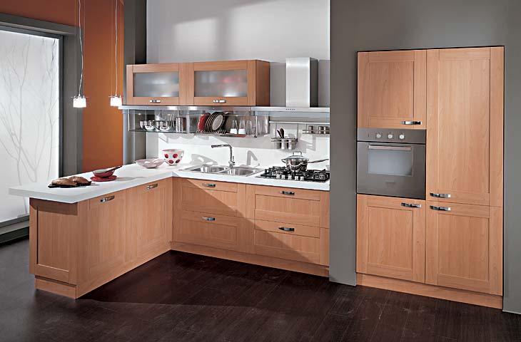 Iezzi catalogo cucine moderno laura ciliegio bellagio - Cucine ciliegio moderne ...