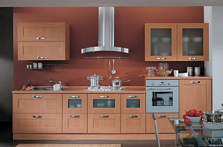 IEZZI - Catalogo, cucine moderno - Laura Ciliegio bellagio